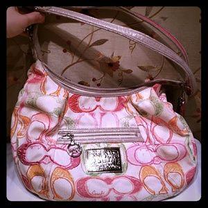 Summer coach poppy shoulder bag